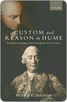 Custom and Reason in Hume - Henry Allison