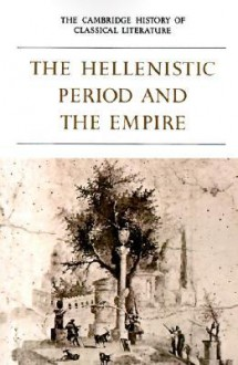 The Cambridge History of Classical Literature: Part 4 - P.E. Easterling