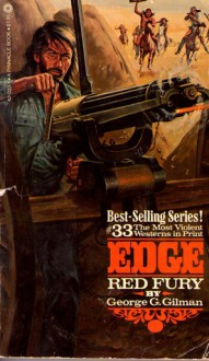 Red Fury (Edge, #33) - George G. Gillman, George G. Gillman