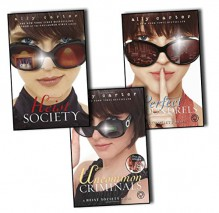 Ally Carter Heist Society 3 Books Collection Pack Set (Heist Society, Perfect Scoundrels, Uncommon Criminals) - Ally Carter
