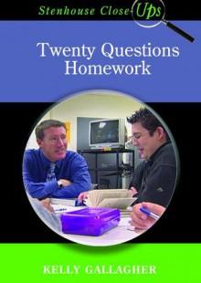 Twenty Questions Homework (DVD) - Kelly Gallagher