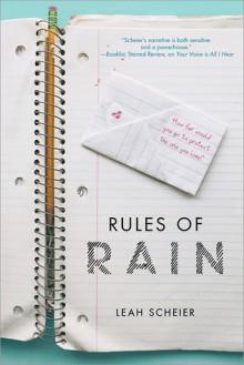 Rules of Rain - Leah Scheier