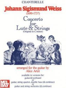 Johann Sigismund Weiss: Concerto in D Minor for Lute and Strings - Johann Sigismund Weiss
