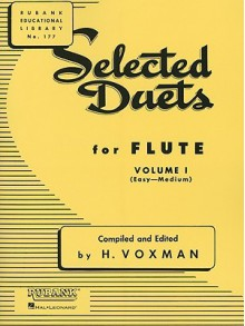 Selected Duets for Flute: Volume 1 - Easy to Medium - Voxman Himie
