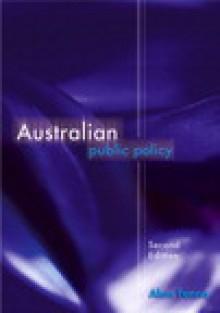 Australian Public Policy - Alan Fenna