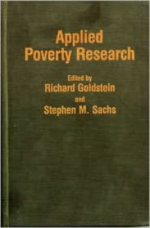 Applied Poverty Research - Richard Goldstein