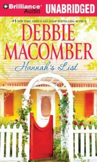 Hannah's List - Debbie Macomber, Fred Stella