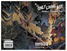 The Only Living Boy ComicsPro Exclusive - David Gallaher, Steve Ellis (Illustrator)