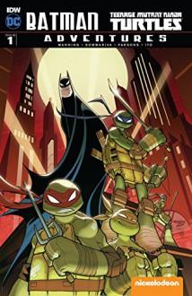 Batman/Teenage Mutant Ninja Turtles Adventures #1 (of 6) - Matthew Manning,Jon Sommariva