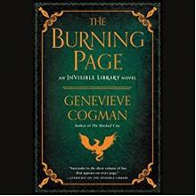 The Burning Page - Genevieve Cogman, Susan Duerden