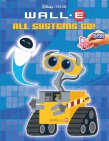 All Systems Go Wall - E Reusable Sticker Book - Walt Disney Company