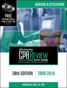 Bisk CPA Review: Auditing & Attestation, 41st Edition, 2012(CPA Comprehensive Exam Review- Auditing and Attestation) - Nathan M. Bisk