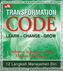 Transformation Code: LEARN - CHANGE - GROW - Aribowo Prijosaksono