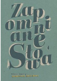 Zapomniane słowa - Magdalena Budzińska