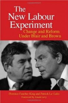 The New Labour Experiment: Change and Reform Under Blair and Brown - Florence Faucher-King, Patrick Le Gales, Gregory Elliott