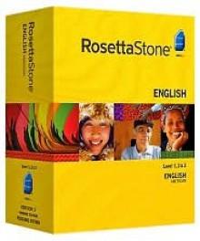 Rosetta Stone Version 3 English (US) Level 1, 2 & 3 Set with Audio Companion - Rosetta Stone