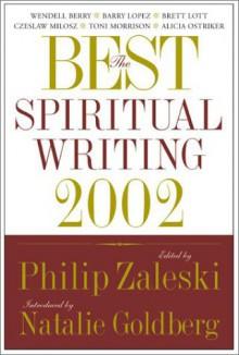 Best Spiritual Writing 2002 (Best American Spiritual Writing (Paperback)) - Natalie Goldberg, Philip Zaleski