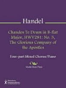 Chandos Te Deum in B-flat Major, HWV281 - Georg Friedrich Händel