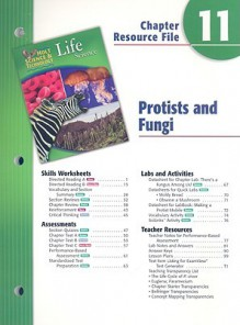 Holt Science & Technology Life Science Chapter 11 Resource File: Protists and Fungi - Holt Rinehart