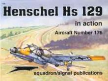 Henschel Hs 129 in Action - Andrew Probert