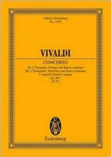 Concerto Op. 46/1 C Maj 2 Tpts - Antonio Lucio Vivaldi