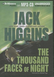 The Thousand Faces of Night - Jack Higgins, Michael Page