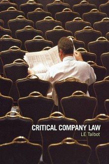 Critical Company Law - Lorraine Talbot