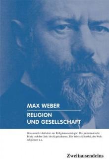 Religion Und Gesellschaft: Gesammelte Aufsätze Zur Religionssoziologie - Max Weber, Alexander Ulfig