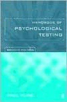 Handbook of Psychological Testing: Second Edition - Paul Kline