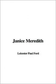 Janice Meredith - Leicester Paul Ford