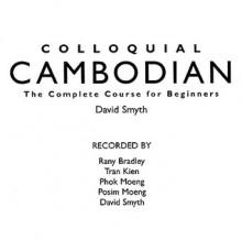 Colloquial Cambodian - David Smyth