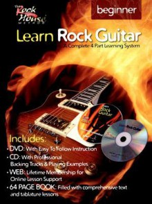 Learn Rock Guitar Beginner [With CD and DVD] - John McCarthy, Steve Gorenburg