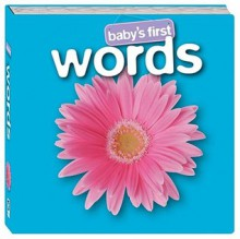 Baby's First Words (Board Book) - Hinkler Books