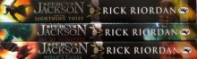 Percy Jackson 3 Book Set And The Lightning Theif Sea Of Monsters Titan'S Curs - Rick Riordan