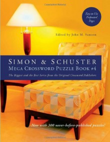 Simon & Schuster Mega Crossword Puzzle Book #4 - John Samson