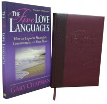 The Five Love Languages Faux Leather Bound Journal and Paperback Book Set (Amazon.com Exclusive) - Gary Chapman