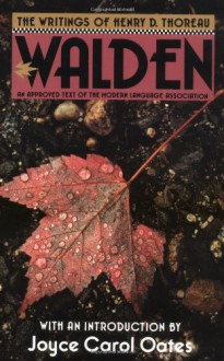 Walden - Henry David Thoreau, Joyce Carol Oates