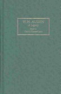 W.H. Auden: A Legacy (Locust Hill Literary Studies) - David Garrett Izzo