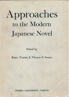 Approaches to the Modern Japanese Novel -