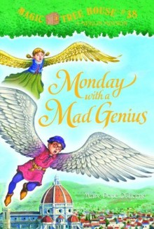 Monday with a Mad Genius (A Stepping Stone Book(TM)) - Mary Pope Osborne, Sal Murdocca