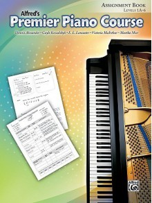 Alfred's Premier Piano Course Assignment Book: Level 1A-6 - Alfred Publishing Company Inc.