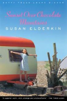 Sunset Over Chocolate Mountains - Susan Elderkin
