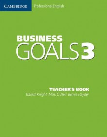 Business Goals 3 Teacher's Book - Gareth Knight