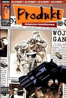 Produkt - 5 - (1/2001) - Jerzy Szyłak, Rafał Skarżycki, Tomasz Lew Leśniak, Bartosz Minkiewicz, Michał Śledziński