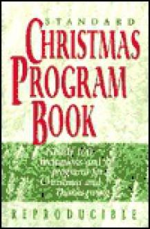 STD CHRISTMAS PROG BK-ED3 - Standard Publishing