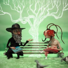 The Cockroach Hat : A Literary Love Story - Terry Bisson, Red Nose Studio