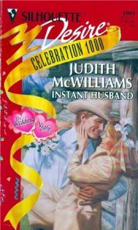 Instant Husband - Judith McWilliams