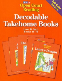 Open Court Decodable Books Take Home: Level B, Set 1, Book 2 - Various
