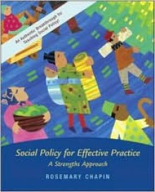 Social Policy with Case Study CD and Ethics Primer [With CD (Audio)] - Rosemary K. Chapin
