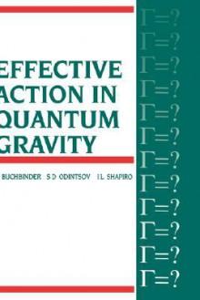 Effective Action in Quantum Gravity - I.L Buchbinder, S Odintsov, L Shapiro